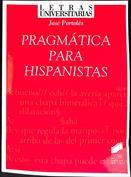 Portada Pragmática para hispanistas