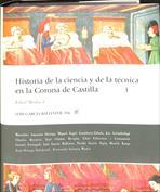 Portada Historia de la ciencia y de la técnica en la Corona de Castilla