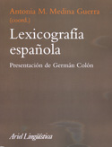 Portada Lexicografía española