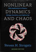 Portada Nonlinear Dynamics and Chaos. With Applications to Physics, Biology, Chemistry and Engineering