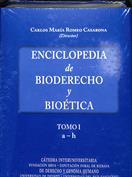 Portada Enciclopedia de bioderecho y bioética