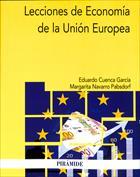 Portada Lecciones de economía de la Unión Europea
