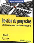 Portada Gestión de proyectos. Edición revisada y actualizada 2010