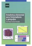 Portada Estadística elemental para historiadores y geógrafos