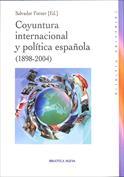 Portada Coyuntura internacional y política española (1898 2004)