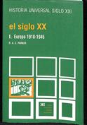 Portada Historia universal El siglo XX. Europa, 1918 1945
