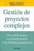 Gestión de proyectoscomplejos