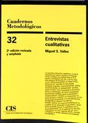 Entrevistas cualitativas. Cuadernos Metodológicos, nº 35