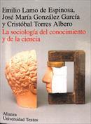 Portada La sociología del conocimiento y de la ciencia