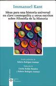 Portada Ideas para una historia universal en clave cosmopolita y otros escritos sobre filosofía de la historia