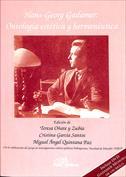 Hans-Georg Gadamer. Ontología estética y hermenéutica