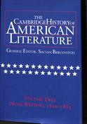 The Cambridge History of American Literature, Vol. 2 Prose Writing, 1820-1865