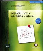 Portada Álgebra lineal y geometría vectorial