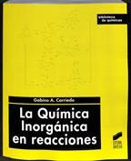 La química inorgánica en reacciones