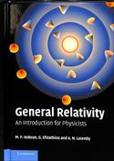 Portada General Relativity. An Introduction for Physicists