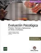 Portada Evaluación psicológica. Proceso, técnicas y aplicaciones en áreas y contextos