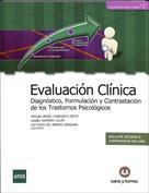 Portada Evaluación clínica. Diagnóstico, formulación y contrastación de los trastornos psicológicos