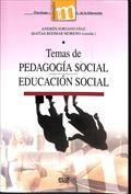 Temas de pedagogía social-educación social