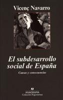El subdesarrollo social en España