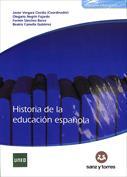 Portada Historia de la educación española