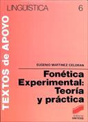 Portada Fonética Experimental Teoría y práctica