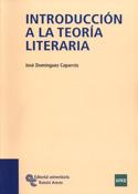 Portada Introducción a la teoría literaria