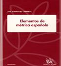 Portada Elementos de métrica española