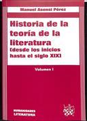 Historia de la teoría de la literatura (desde los inicios hasta el siglo XIX)