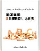 Portada Diccionario de términos literarios
