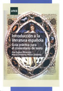 Portada Introducción a la literatura española. Guía práctica para el comentario de texto