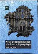 Portada Notas de sociolingüística e historia da lingua galega