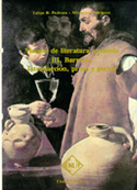 Portada Manual de literatura española. Tomo III. Barroco. Introducción prosa y poesía