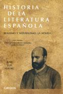 Portada Historia de la literatura española. Tomo V. Realismo y naturalismo. La novela (D)