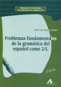 Portada Problemas fundamentales de la gramática del español  como 2ª lengua