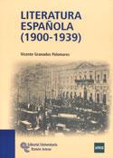 Portada Literatura española (1900 1939)