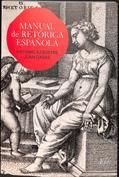 Portada Manual de retórica española
