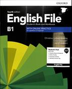 Portada English File Intermediate. Students book and workbook . With key pack. B1