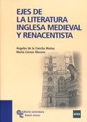 Portada Ejes de la literatura inglesa medieval y renacentista