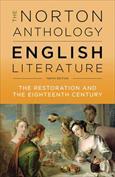 Portada The Norton Anthology of English Literature. The Restoration and the Eighteenth Century. Volume C