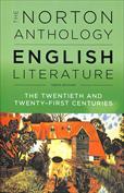 Portada The Norton Anthology of English Literature. The twentieth and twenty first centuries