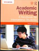 Portada Academic Writing.  A Handbook for International Students