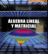 Portada Álgebra lineal y matricial
