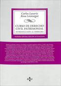 Portada Curso de Derecho Civil Patrimonial. Introducción al Derecho