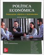 Portada Política económica. Elaboración, objetivos e instrumentos