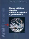 Portada Bienes públicos globales, política económica y globalización