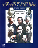 Portada Historia de la teoría económica y de su método(D)