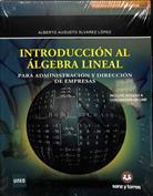 Portada Introducción al álgebra lineal para administración y dirección de empresas
