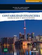 Portada Contabilidad financiera. Ejercicios y soluciones