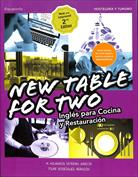 New table for two. Inglés para cocina y restauración