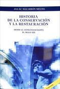 Portada Historia de la conservación y la restauración. Desde la antigüedad hasta el siglo XX